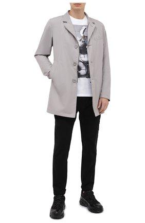 Мужская хлопковая футболка BISIBIGLIO белого цвета, арт. LECCA BRACCI0/PESANTE | Фото 2
