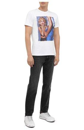 Мужская хлопковая футболка BISIBIGLIO белого цвета, арт. S0RPRESE VINTAGE/PESANTE | Фото 2