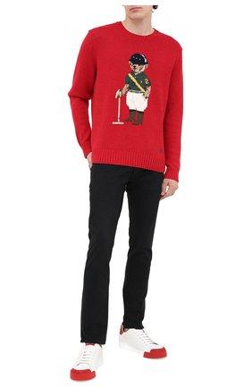 Мужские джинсы POLO RALPH LAUREN черного цвета, арт. 710803627 | Фото 2