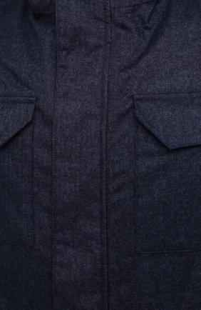 Мужская пуховая куртка HERNO синего цвета, арт. PI161UL/12393 | Фото 5