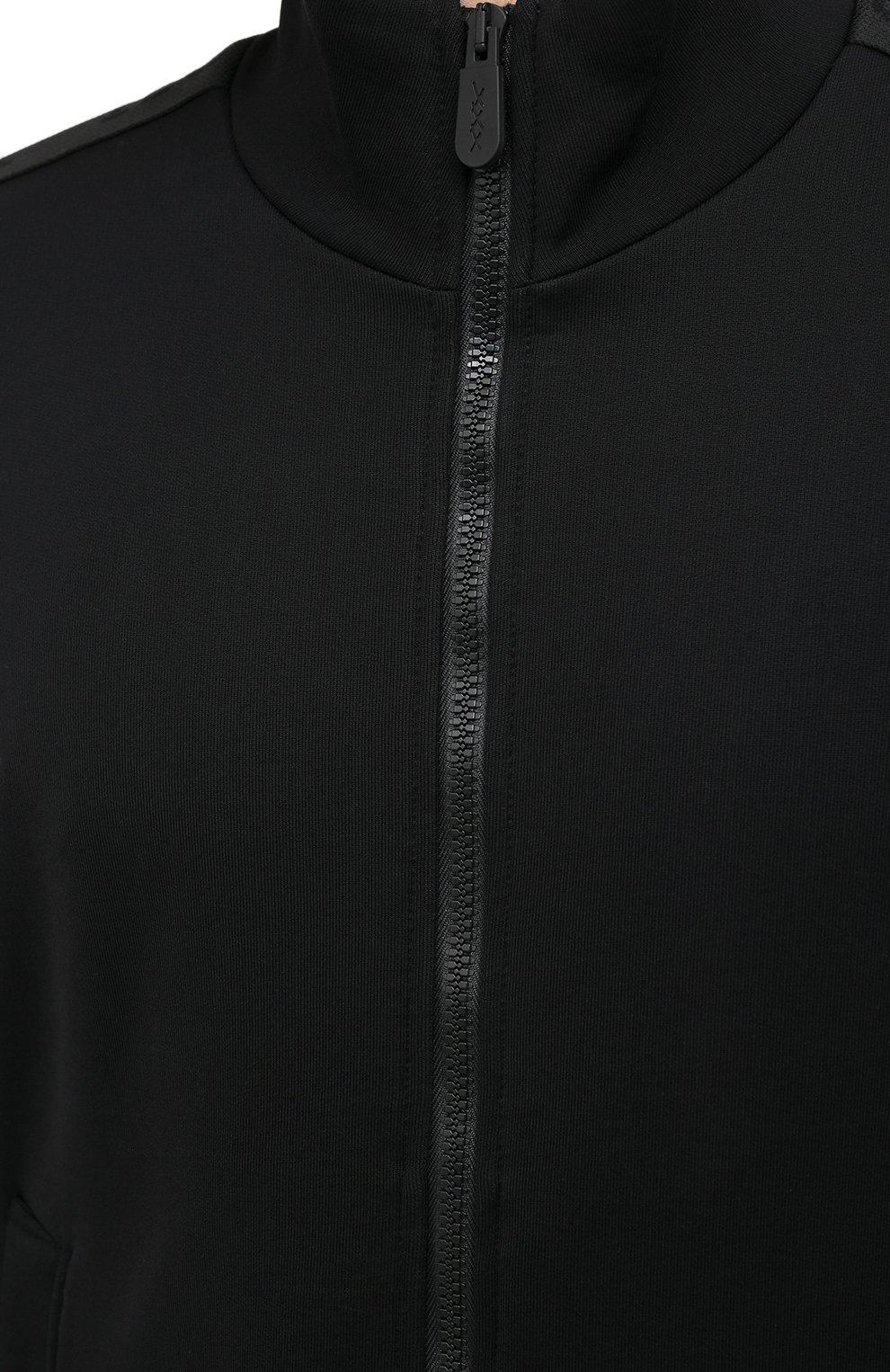 Мужской толстовка ZEGNA COUTURE черного цвета, арт. CVCJ02/8VJ37   Фото 5 (Рукава: Длинные; Мужское Кросс-КТ: Толстовка-одежда; Длина (для топов): Стандартные; Материал внешний: Хлопок; Стили: Кэжуэл)
