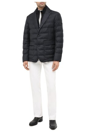 Мужская утепленная куртка Z ZEGNA серого цвета, арт. VV032/ZZ014 | Фото 2