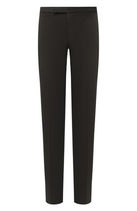 Мужские брюки ERMENEGILDO ZEGNA хаки цвета, арт. UVI15/TN21 | Фото 1
