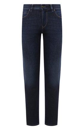 Мужские джинсы ERMENEGILDO ZEGNA темно-синего цвета, арт. UVI70/JS02 | Фото 1
