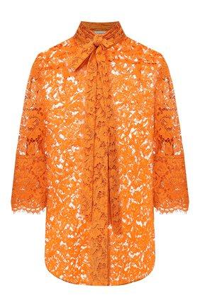 Блузка из вискозы и хлопка | Фото №1