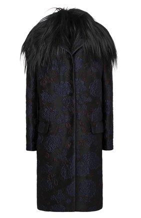Женское пальто TEGIN синего цвета, арт. FC2106 | Фото 1