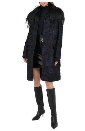 Женское пальто TEGIN синего цвета, арт. FC2106 | Фото 2