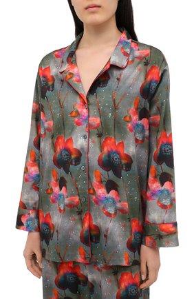 Женская хлопковая пижама ZIMMERLI разноцветного цвета, арт. 5143-36800 | Фото 2