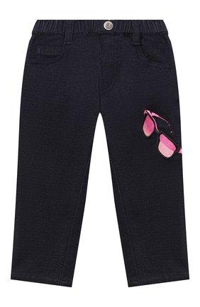 Детские джинсы EMPORIO ARMANI синего цвета, арт. 6HEJ23/4D2AZ | Фото 1
