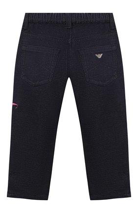 Детские джинсы EMPORIO ARMANI синего цвета, арт. 6HEJ23/4D2AZ | Фото 2