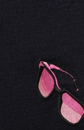 Детские джинсы EMPORIO ARMANI синего цвета, арт. 6HEJ23/4D2AZ   Фото 3