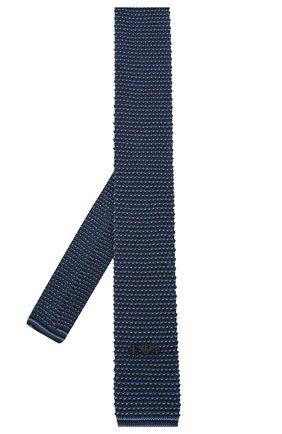 Детский шелковый галстук EMPORIO ARMANI синего цвета, арт. 409526/0A957 | Фото 2