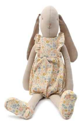 Детского игрушка заяц MAILEG бежевого цвета, арт. 16-0401-00   Фото 1