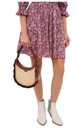 Женская сумка darryl small CHLOÉ коричневого цвета, арт. CHC20AS342D03   Фото 2