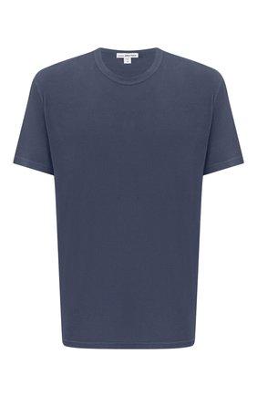 Мужская хлопковая футболка JAMES PERSE темно-серого цвета, арт. MLJ3311 | Фото 1