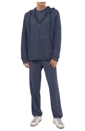 Мужской хлопковые брюки JAMES PERSE темно-серого цвета, арт. MXA1161 | Фото 2