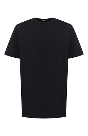 Мужская хлопковая футболка JAMES PERSE черного цвета, арт. MELJ3199 | Фото 1