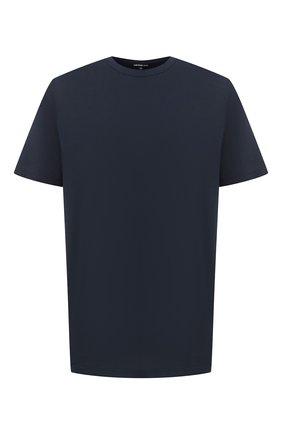 Мужская хлопковая футболка JAMES PERSE темно-синего цвета, арт. MELJ3199 | Фото 1