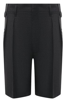 Мужские шерстяные шорты MAISON MARGIELA темно-серого цвета, арт. S50MU0038/S44330 | Фото 1