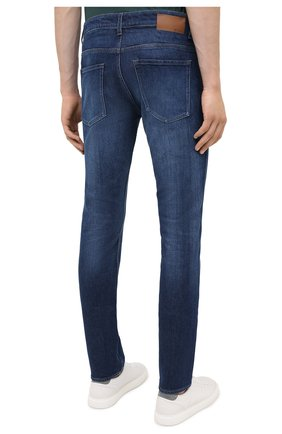 Мужские джинсы BOSS темно-синего цвета, арт. 50437912 | Фото 4