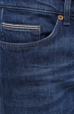 Мужские джинсы BOSS темно-синего цвета, арт. 50437912 | Фото 5