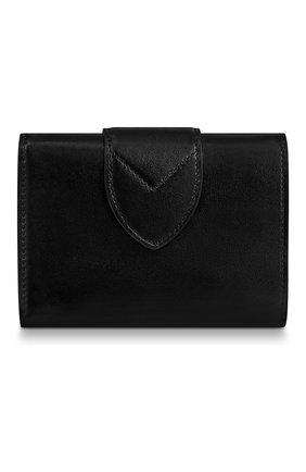 Женские кожаный кошелек pont 9 LOUIS VUITTON черного цвета, арт. M69175 | Фото 2