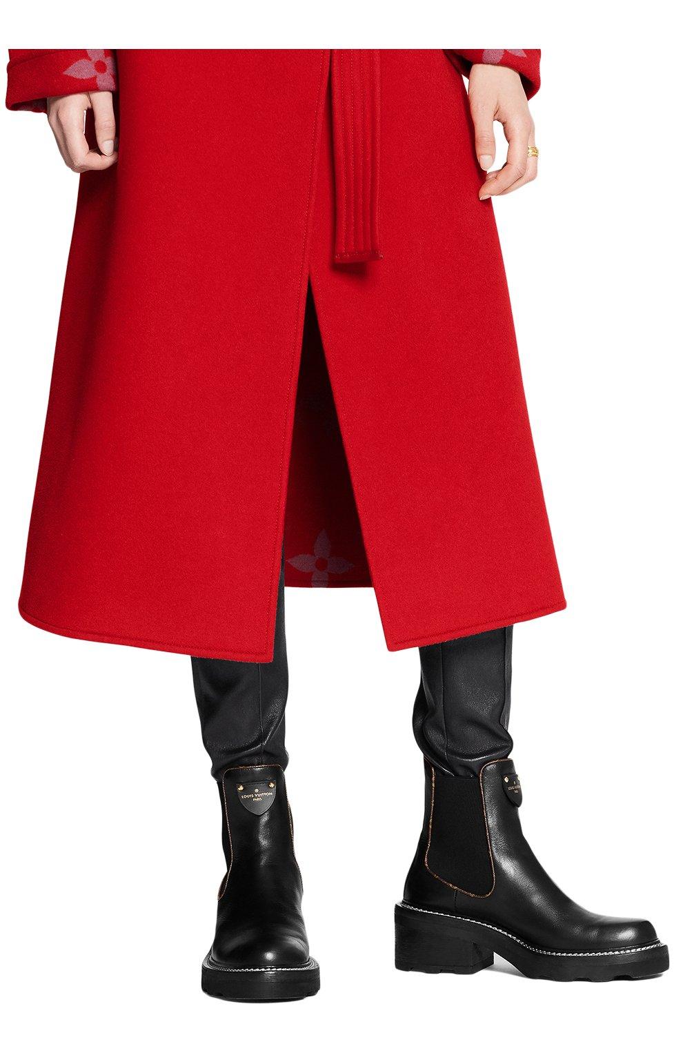 Женские кожаные ботинки beaubourg LOUIS VUITTON черного цвета, арт. 1A8949 | Фото 2