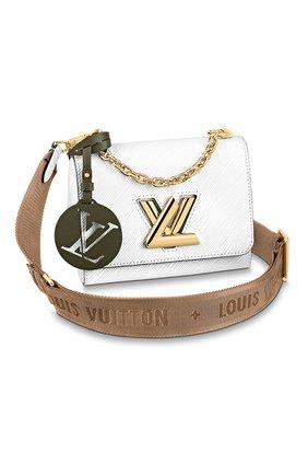 Женская сумка twist pm LOUIS VUITTON белого цвета, арт. M56628 | Фото 1