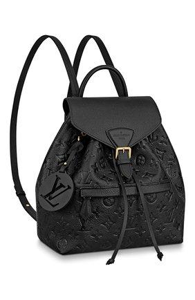 Женский рюкзак montsouris LOUIS VUITTON черного цвета, арт. M45205 | Фото 1