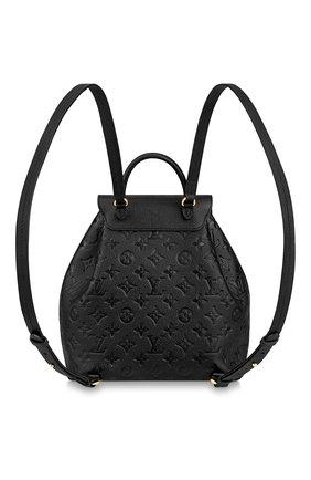 Женский рюкзак montsouris LOUIS VUITTON черного цвета, арт. M45205 | Фото 2
