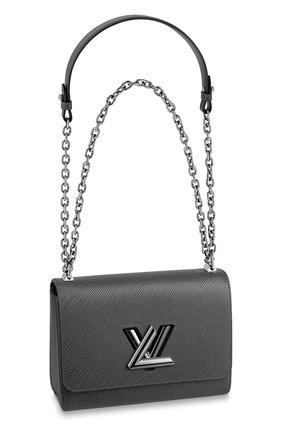Женская сумка twist LOUIS VUITTON темно-серого цвета, арт. M56530 | Фото 1