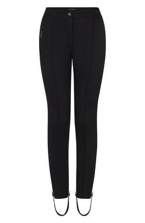 Женские шерстяные брюки LOUIS VUITTON черного цвета, арт. 1A82HU | Фото 1
