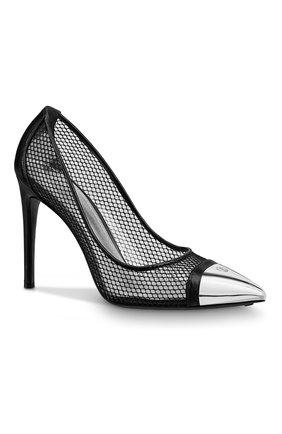 Женские кожаные туфли urban twist LOUIS VUITTON черного цвета, арт. 1A7S00 | Фото 2