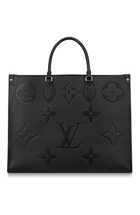 Женский сумка-тоут onthego LOUIS VUITTON черного цвета, арт. M44925 | Фото 1