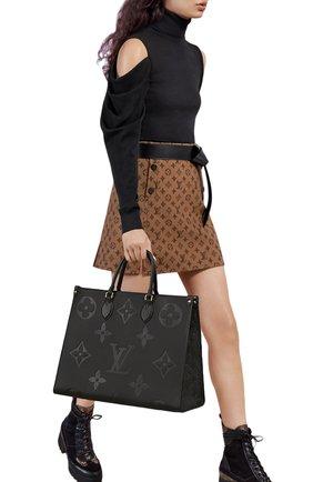 Женский сумка-тоут onthego LOUIS VUITTON черного цвета, арт. M44925 | Фото 2