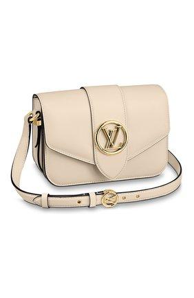 Женская сумка pont 9 LOUIS VUITTON бежевого цвета, арт. M55950 | Фото 1