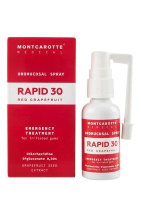 Спрей для полости рта rapid 30 red grapefruit MONTCAROTTE бесцветного цвета, арт. MCM0630 | Фото 2