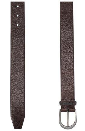 Женский кожаный ремень BRUNELLO CUCINELLI коричневого цвета, арт. M0JUMC31GP | Фото 2