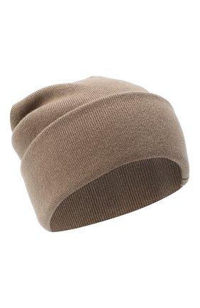 Женская кашемировая шапка BRUNELLO CUCINELLI бежевого цвета, арт. M12163199 | Фото 1