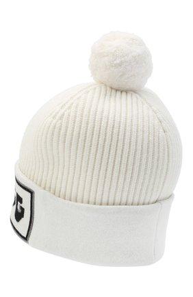 Женская кашемировая шапка DOLCE & GABBANA белого цвета, арт. FXA02T/JAW5V   Фото 2