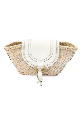 Женская сумка marcie CHLOÉ белого цвета, арт. CHC20US829C97   Фото 1