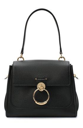Женская сумка tess day small CHLOÉ черного цвета, арт. CHC20AS142C62   Фото 1