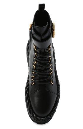 Женские кожаные ботинки valentino garavani the rope VALENTINO черного цвета, арт. UW2S0AA1/TNA   Фото 5