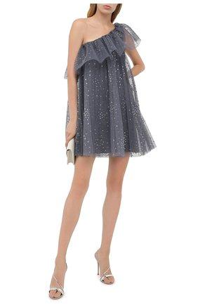 Женское платье REDVALENTINO серого цвета, арт. UR3VAT05/564 | Фото 2