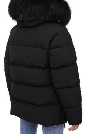Женский пуховик DSQUARED2 черного цвета, арт. S75AM0784/S53141 | Фото 5