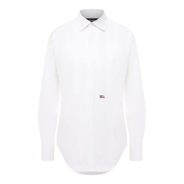 Хлопковая рубашка Dsquared2