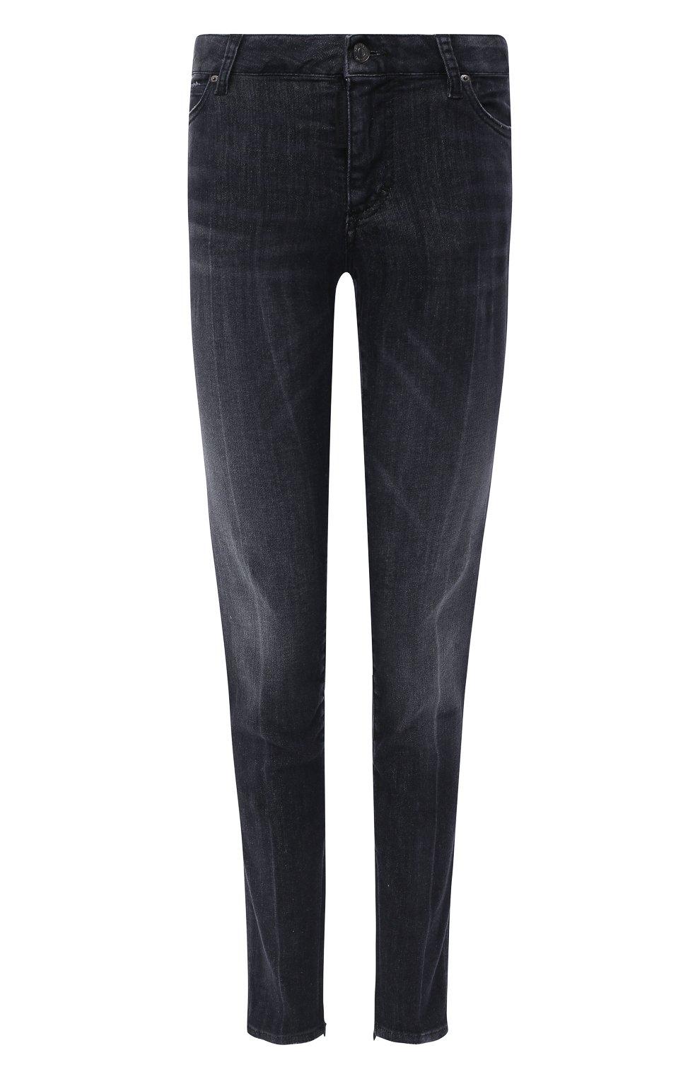 Женские джинсы DSQUARED2 черного цвета, арт. S75LB0381/S30503 | Фото 1
