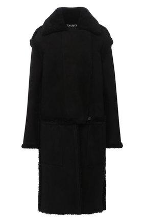 Женская дубленка TOM FORD черного цвета, арт. CSF617-FUX124 | Фото 1