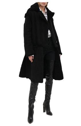 Женская дубленка TOM FORD черного цвета, арт. CSF617-FUX124 | Фото 2