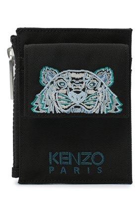 Женский футляр для кредитных карт KENZO черного цвета, арт. FA65PM306F20 | Фото 1